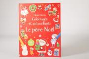Le père Noël, coloriages et autocollants, Éditions Usborne,... - image 2.0