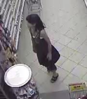 Les policiers recherchent cette femme impliquée dans un... (fournie par le Service de police de Granby) - image 2.0