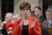 La ministre canadienne du Développement international, Marie-Claude Bibeau.... (PHOTO ADRIAN WYLD, ARCHIVES LA PRESSE CANADIENNE) - image 1.0