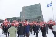 Des membres du Syndicat des professionnels du gouvernement... (Le Soleil, Jean-Marie Villeneuve) - image 4.0
