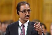 Le ministre de l'Infrastructure et des Collectivités, Amarjeet... (PHOTO PC) - image 2.0