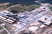 Maquette du projet d'usine de FerroAtlantica à Port-Cartier,... (Photothèque Le Soleil) - image 1.1