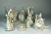 Crèche de céramique, don de la famille Légaré... (Fournie par le Fonds Hélène Bhérer-Pelletier) - image 1.0