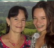 Natalia Jiménez Amaya et sa mère.... (Photo fournie) - image 1.0