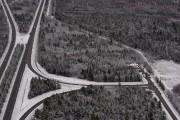 Voici une photo aérienne du boisé dans lequel... (François Gervais) - image 1.0