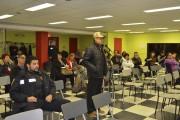 Une cinquantaine de personnes ont assisté à l'assemblée... (Photo Le Quotidien, Louis Potvin) - image 1.0