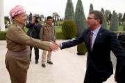 Le secrétaire à la Défense Carter a rencontré... (PHOTO AZAD LASHKARI, REUTERS) - image 2.0
