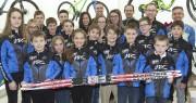 Voici les jeunes skieurs qui porteront les couleurs... (Photo Le Quotidien, Michel Tremblay) - image 2.0