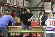 Vendredi, le premier ministre Justin Trudeau et son... (PHOTO FRANÇOIS ROY, LA PRESSE) - image 1.0