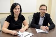 L'auteur du rapport, Fabien Tremblay, et l'urgentologue Geneviève... (Photo Le Progrès-Dimanche, Jeannot Lévesque) - image 1.0
