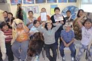 Les enfants ont pu découvrir les animaux «ambassadeurs»... (Fournie par le Zoo de Granby) - image 1.0