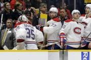 Le gardien du Canadien Dustin Tokarski (35) a... (AP, Mark Humphrey) - image 2.0