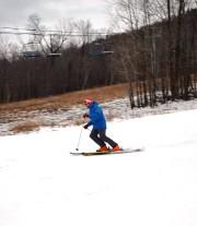 Comme prévu, le centre de ski du mont... (Photo tirée de Facebook) - image 1.0