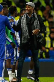 Didier Drogba a assisté à la victoire de... (Photo John Sibley, Reuters) - image 2.0