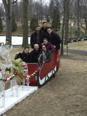 Le 21 décembre, la famille Pietroniro a pu... (Fournie par Marco pietroniro) - image 1.0