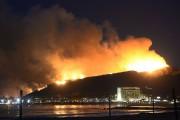 Plus de 600pompiers combattaient les flammes et tentaient... (PHOTO GENE BLEVINS, REUTERS) - image 1.0