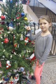 Rosalie Tremblay, huit ans, avait bien hâte de... (Photo Le Progrès-Dimanche, Mélissa Viau) - image 2.0