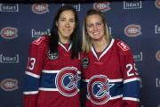 Caroline Ouellette et Marie-Philip Poulin font partie des... (Photo Paul Chiasson, La Presse Canadienne) - image 1.0