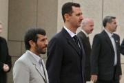 En janvier 2006, Bachar Al-Assad (à droite) avec... (Photothèque Le Soleil) - image 4.0