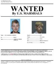 L'avis de recherche d'Ethan Couch.... (Photo U.S. Marshals Service via AP) - image 1.0