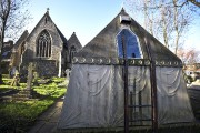 Le mausolée victorien de l'aventurier britannique Richard Francis... (AFP, Ben StanSall) - image 2.0