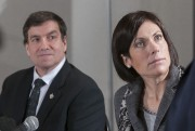 Denis Lemieux (Parti libéral) et Karine Trudel (NPD),... (Archives Le Quotidien) - image 2.0