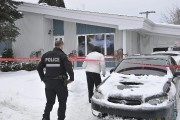 Dans la journée, mercredi, les policiers de la... (Photo Le Quotidien, Rocket Lavoie) - image 2.0