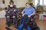 Malgré la paralysie cérébrale les confinant à un... (Daniel Auclair, collaboration spéciale) - image 3.0