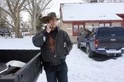 Ryan Bundy parle au téléphone, auparc du Malheur... (PHOTO REBECCA BOONE, AP) - image 1.0