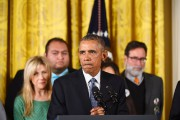Le président Obama annonce son plan pour réduire... (PHOTO JIM WATSON, AFP) - image 2.0
