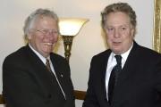 Jean-Paul L'Allier et Jean Charest en 2004... (Photothèque Le Soleil) - image 5.0