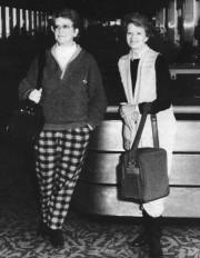 Le 27 février 1987, Micheline et Laurence Lévesque... (Archives) - image 3.0