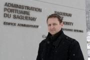 Le directeur général de Port Saguenay, Carl Laberge,... (Photo Le Quotidien, Rocket Lavoie) - image 2.0