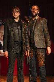 Vincent-Guillaume Otis et François Létourneau dans Série noire... (Fournie par ICI Radio-Canada Télé) - image 9.0