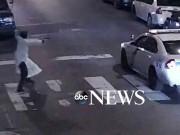 Une caméra de surveillance de la ville a... (IMAGE ABC NEWS) - image 1.0
