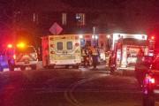 De nombreux pompiers, ambulanciers et policiers de Saguenay... (Photo Le Progrès-Dimanche, Michel Tremblay) - image 2.0