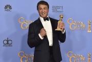 Sylvester Stallone a reçu le Golden Globe du... (Associated Press) - image 2.1