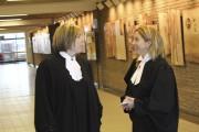 Les procureures aux poursuites criminelles au dossier Me... (La Tribune, René-Charles Quirion) - image 1.0