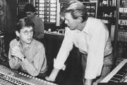 Le réalisateur Hugh Padgham et David Bowie lors... (PHOTO FOURNIE PARYAËL BRANDEIS PERRY) - image 2.0