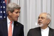 John Kerry et Mohammad Javad Zarif à Lausanne,... (PHOTO AP) - image 2.0