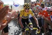Chris Froome lors du Tour de France... (Laurent Cipriani, Archives AP) - image 7.0