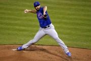 Jake Arrieta, des Cubs de Chicago, est l'un... (AP, Gene J. Puskar) - image 5.0