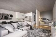 Dans les appartements aménagés sur deux niveaux, l'espace... (ILLUSTRATION NARCIS BENGA, FOURNIE PAR CHAPAM CONSTRUCTIONS) - image 1.1