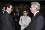 Jean-Pierre Blackburn a assisté au discours du chef... (Photo Le Quotidien, Rocket Lavoie) - image 1.0