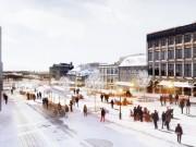 La Place, l'hiver.... (PHOTO FOURNIE PAR LA VILLE DE MONTRÉAL) - image 1.1