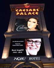 Le Caesars Palace de Las Vegas rend hommage... (PHOTO TIRÉE DE TWITTER) - image 1.0