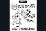 Caricature publiée dans Charlie Hebdo.... (La Presse Canadienne) - image 1.0