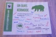 En signant ce certificat d'adoption d'un ours Kermode,... (Photo Le Progrès-Dimanche, Mélissa Viau) - image 2.1