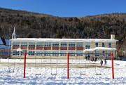 Le Centre d'entraînement Dominique Maltais, installé dans l'école... (Le Soleil, Pascal Ratthé) - image 5.0