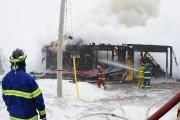Quelque 25 pompiers ont participé à l'opération.... (Photo Le Progrès-Dimanche, Gimmy Desbiens) - image 2.0